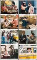 "Movie Posters:Crime, Taxi Driver (Columbia, 1976). Mini Lobby Card Set of 8 (11"" X 14"").Crime.. ... (Total: 8 Items)"