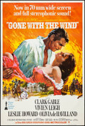 "Movie Posters:Academy Award Winners, Gone with the Wind (MGM, R-1967). Poster (40"" X 60""). Academy AwardWinners.. ..."