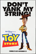 """Movie Posters:Animation, Toy Story (Buena Vista, 1995). Banner (45.5"""" X 70"""") DS Advance. Animation.. ..."""
