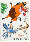 """Movie Posters:Animation, The Lion King (Buena Vista, 1994). Theater Window Cling Set (28.25""""X 40""""). Animation.. ... (Total: 3 Items)"""