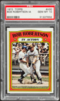 Baseball Cards:Singles (1970-Now), 1972 Topps Bob Robertson IA #430 PSA Gem Mint 10....