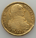 Colombia, Colombia: Charles IV gold 8 Escudos 1789 P-SF VF/XF - Cleaned,...