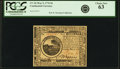 Colonial Notes:Continental Congress Issues, Continental Currency May 9, 1776 $6 Fr. CC-36. PCGS Choice New 63.. ...