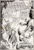 Original Comic Art:Covers, Murphy Anderson Strange Adventures #144 Atomic Knights CoverOriginal Art (DC, 1962)....