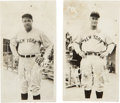 Baseball Collectibles:Photos, Unique 1930's Babe Ruth and Lou Gehrig Premiums Pair (2). ...