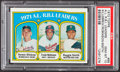 Baseball Cards:Singles (1970-Now), 1972 Topps AL R.B.I. Leaders #88 PSA Gem Mint 10 - Pop Four. ...