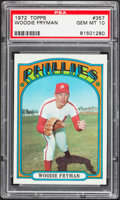 Baseball Cards:Singles (1970-Now), 1972 Topps Woodie Fryman #357 PSA Gem Mint 10....