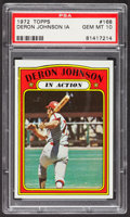 Baseball Cards:Singles (1970-Now), 1972 Topps Deron Johnson IA #168 PSA Gem Mint 10 - Pop Two....