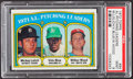 Baseball Cards:Singles (1970-Now), 1972 Topps AL Pitching Leaders #94 PSA Mint 9....