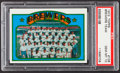 Baseball Cards:Singles (1970-Now), 1972 Topps Brewers Team #106 PSA Gem Mint 10 - Pop Four....