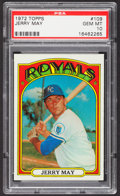 Baseball Cards:Singles (1970-Now), 1972 Topps Jerry May #109 PSA Gem Mint 10....