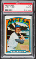 Baseball Cards:Singles (1970-Now), 1972 Topps Vada Pinson #135 PSA Mint 9....