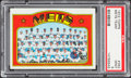 Baseball Cards:Singles (1970-Now), 1972 Topps Mets Team #362 PSA Mint 9....