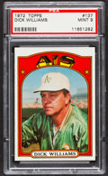 Baseball Cards:Singles (1970-Now), 1972 Topps Dick Williams #137 PSA Mint 9....