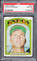 Baseball Cards:Singles (1970-Now), 1972 Topps Stan Swanson #331 PSA Gem Mint 10....