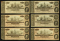 Confederate Notes:1864 Issues, T67 $20 1864 PF-11 Cr. 511 Nineteen Examples.. ... (Total: 19 notes)