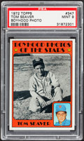 Baseball Cards:Singles (1970-Now), 1972 Topps Tom Seaver, Boyhood Photo #347 PSA Mint 9....
