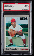 Baseball Cards:Singles (1970-Now), 1970 Topps Pat Corrales #507 PSA Mint 9....