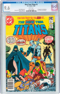 Modern Age (1980-Present):Superhero, New Teen Titans #2 (DC, 1980) CGC NM+ 9.6 White pages....