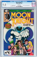 Modern Age (1980-Present):Superhero, Moon Knight #1 (Marvel, 1980) CGC NM/MT 9.8 White pages....