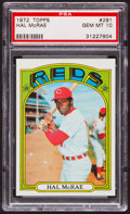 Baseball Cards:Singles (1970-Now), 1972 Topps Hal McRae #291 PSA Gem Mint 10....