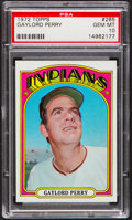 Baseball Cards:Singles (1970-Now), 1972 Topps Gaylord Perry #285 PSA Gem Mint 10....