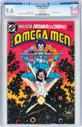 Modern Age (1980-Present):Superhero, The Omega Men #3 (DC, 1983) CGC NM+ 9.6 White pages....