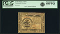 Colonial Notes:Continental Congress Issues, Continental Currency May 9, 1776 $5 Fr. CC-35. PCGS Superb Gem New68PPQ.. ...