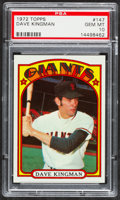 Baseball Cards:Singles (1970-Now), 1972 Topps Dave Kingman #147 PSA Gem Mint 10....