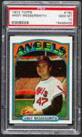 Baseball Cards:Singles (1970-Now), 1972 Topps Andy Messersmith #160 PSA Gem Mint 10....