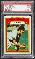 Baseball Cards:Singles (1970-Now), 1972 Topps Paul Schaal IA #178 PSA Mint 9....