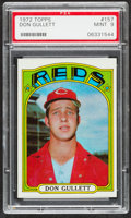 Baseball Cards:Singles (1970-Now), 1972 Topps Don Gullett #157 PSA Mint 9....