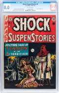 Golden Age (1938-1955):Horror, Shock SuspenStories #6 (EC, 1952) CGC VF 8.0 Off-white pages....