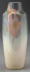 Ceramics & Porcelain, American:Modern  (1900 1949)  , A Rookwood Art Pottery Dogwood Blossom Vase, Cincinnati, Ohio,1904. Marks: (Rookwood addorsed RP with 14 flames) , IV,34...