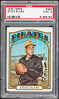 Baseball Cards:Singles (1970-Now), 1972 Topps Steve Blass #320 PSA Mint 9....
