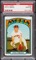 Baseball Cards:Singles (1970-Now), 1972 Topps Syd O'Brien #289 PSA Gem Mint 10....