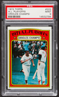 Baseball Cards:Singles (1970-Now), 1972 Topps A.L. Playoffs #222 PSA Mint 9....