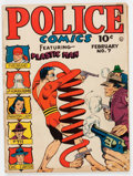 Golden Age (1938-1955):Superhero, Police Comics #7 (Quality, 1942) Condition: VG-....