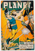 Golden Age (1938-1955):Science Fiction, Planet Comics #46 (Fiction House, 1947) Condition: VG/FN....