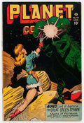 Golden Age (1938-1955):Science Fiction, Planet Comics #47 (Fiction House, 1947) Condition: VG+....