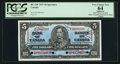 Canadian Currency: , BC-23S $5 1937 Specimen . ...