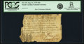 Colonial Notes:North Carolina, North Carolina August 21, 1775 $10 Fr. NC-152. PCGS Fine 15Apparent.. ...