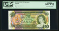 Canadian Currency: , BC-50aS $20 1969 Specimen. ...