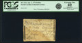 Colonial Notes:North Carolina, North Carolina April 2, 1776 $4 Bee Fr. NC-161a. PCGS Extremely Fine 40 Apparent.. ...