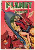Golden Age (1938-1955):Science Fiction, Planet Comics #65 (Fiction House, 1951) Condition: VG+....