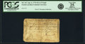 Colonial Notes:North Carolina, North Carolina April 2, 1776 $12 1/2 Eagle Fr. NC-167. PCGS VeryFine 25 Apparent. ...