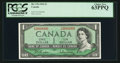 Canadian Currency: , 3000000 Serial Number BC-37b $1 1954. ...
