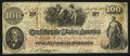 Confederate Notes:1862 Issues, T41 $100 1862 PF-2 Cr. 311.. ...