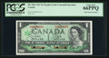 Canadian Currency: , BC-45bS $1 1967 Commemorative Serial Specimen. ...