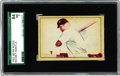 "Baseball Cards:Singles (1950-1959), 1952 Berk Ross Mickey Mantle SGC 84 NM 7. Berk Ross' multi-sport ""Hit Parade of Champions"" release gave the hobby this visua..."